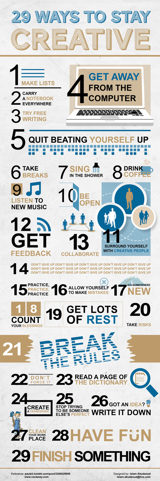 Infographics -29-ways -to -stay -creative